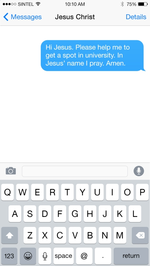 iMessage-Christ